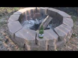 Build A Backyard Fire Pit by How To Build A Backyard Fire Pit Youtube