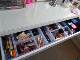 makeup storage ikea malm dressing table merry musing