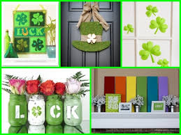s day home decor st patricks day home decorations interior lighting design ideas