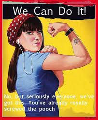 Rosie The Riveter Meme - simple rosie the riveter meme the military gave this woman s
