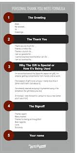 personal thank you note templates tips and tools the distilled