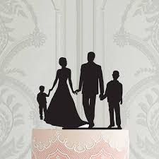 family cake toppers 48 cool photo of wedding cake toppers family wedding cakes