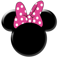 minnie mouse bow template clipart best cumpleaños pinterest