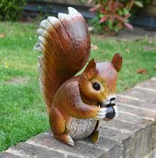 metal animal figures tortoise squirrel ladybird garden patio