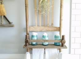 broken chair repurposed into shelf prodigal pieces