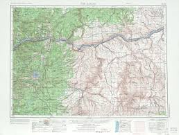 the dalles topographic maps or wa usgs topo 45120a1 at 1