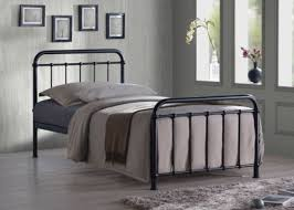 Bed Frame Buy Buy Miami Black Traditional Hospital Style 3ft Single Metal Bed