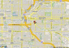 map of towneplace suites downtown denver denver