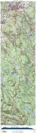 Appalachian Trail Massachusetts Map by Appalachian Trail In Massachusetts