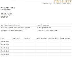 time sheet template printable timesheets