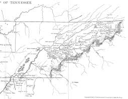 Cleveland Tennessee Map by Tennessee County Map