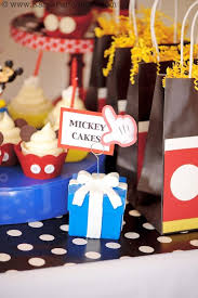 kara u0027s party ideas mickey mouse themed birthday party planning