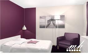 peinture prune chambre chambre prune blanc et gris frais chambre aubergine et blanc