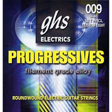 light electric guitar strings ghs prcl progressives roundwound custom light electric prcl b h