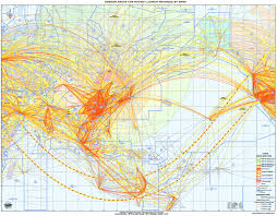 Turkish Airlines Route Map by Icao Public Maps