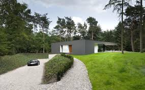 modern grey nuance of the modernism bungalow house design can be