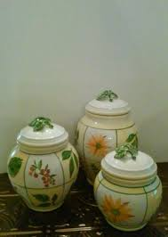 sunflower canisters for kitchen sunflower kitchen canisters sunflowers canister set home