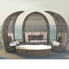 Grey Wicker Patio Furniture by Outdoor Wicker Patio Furniture Modern Homeinfatuation Com