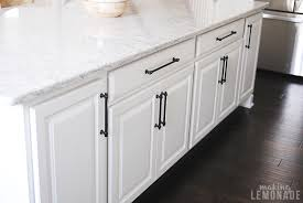 white kitchen cabinet hardware ideas an easy kitchen update that makes a difference