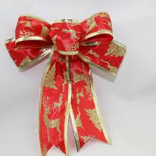 aliexpress com buy red christmas ribbon bow christmas tree