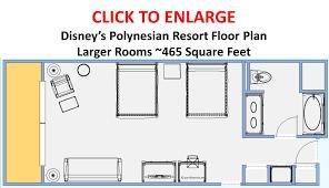 photo tour of a larger refurbished room at disney u0027s polynesian resort