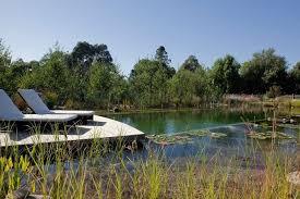 Natural Swimming Pool Hardscaping 101 Natural Swimming Pools Gardenista