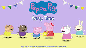 peppa pig party peppa pig party time app trailer