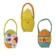 easter bags easter egg goodie bags set of 3 ecopartytime