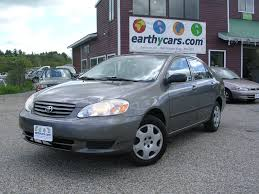 03 toyota corolla mpg earthy cars earthy car of the week 2003 grey toyota corolla ce