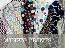 minky and fleece fabric