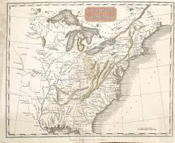 Map Of North East United States by 1810 U0027s Pennsylvania Maps