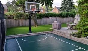 Backyard Sport Courts Best Backyard Sport Court Installers In Toronto Houzz