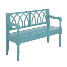 wood entryway bench everything turquoise