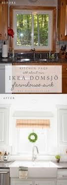Ikea Farmhouse Kitchen Sink Ikea Farmhouse Sink Review Domsjo Hendrick Design Co