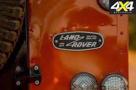 land rover orange land rover defender will return 4x4 australia
