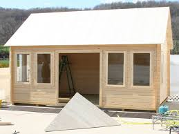lakeview prefab wooden cabin kit allwood claudia cabin kit