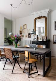 salle a manger shabby chic eclectic home with industrial and shabby chic touches interior