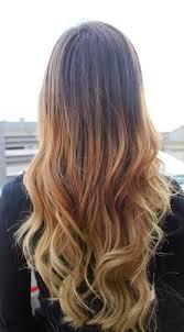 gambar tutorial ombre rambut warna rambut coklat blonde dark brown hairs of hair color coklat