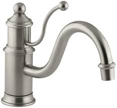 kohler k 168 bn antique single control kitchen sink faucet