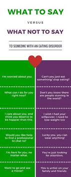 what to say to to be 14 things to never say to someone with an disorder
