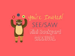 head to see saw mini carnival this saturday for cute barnyard