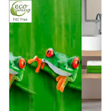Pvc Free Shower Curtain Tree Frog Frog Lover Peva Pvc Non Toxic Shower Curtain