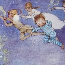 peter pan and wendy mabel lucie attwell illustrator j m barrie