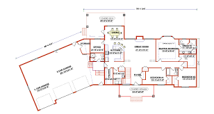 Ranch Floor Plans Stupefying 9 Ranch Floor Plans With Angled Garage Walkout Basement
