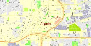atlanta city us map where is seattle located location in us map and atlanta city us