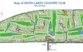 woodhaven lakes map mid century modern condo at seven lakes country palm springs