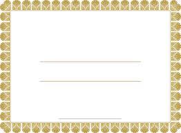 blank certificate templates blank certificates