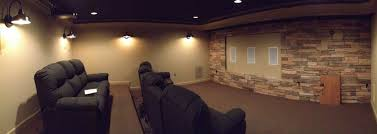 theater room sconce lighting barn wall sconces add dramatic glow to family s home theater blog