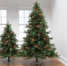 raz 5 or 7 5 and green pre lit g40 artificial tree