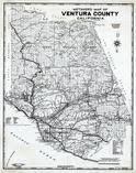 ventura county map ventura county 1980 to 1996 california historical atlas